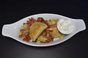 Cheese and Potato Pierogies at Davenport Catering