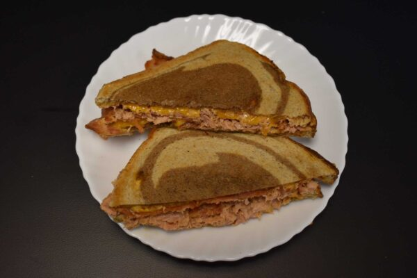 Chipotle Tuna and Bacon Melt at Davenport Catering