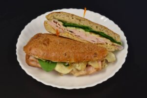 Hungry Man Sandwich at Davenport Catering
