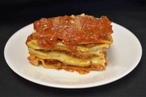 Meat Lasagna at Davenport Catering