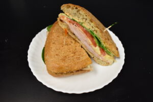 Tuscan Turkey Panini from Davenport Catering