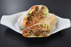 Big Beefy Wrap at Davenport Catering