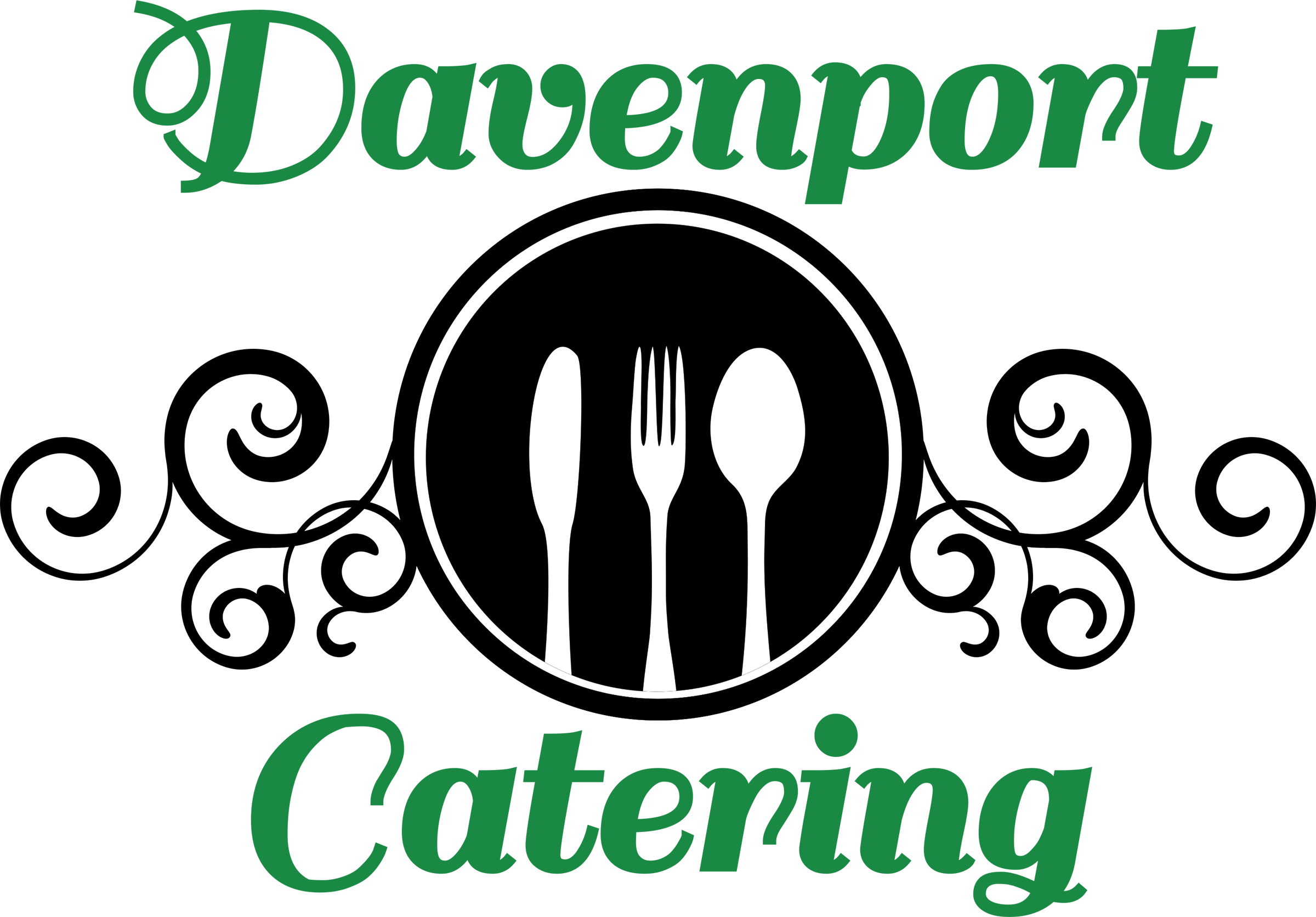 Davenport Catering logo